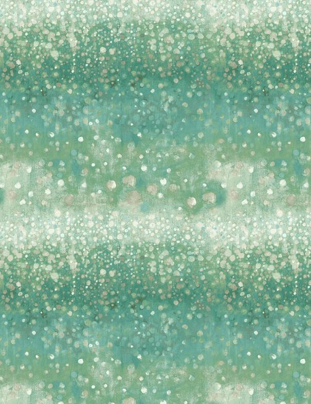 Coastal Bliss Ocean Bubbles Green