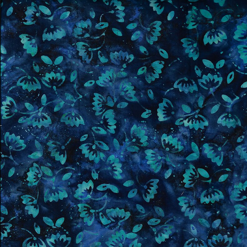 Murano Batik      Blue Berries