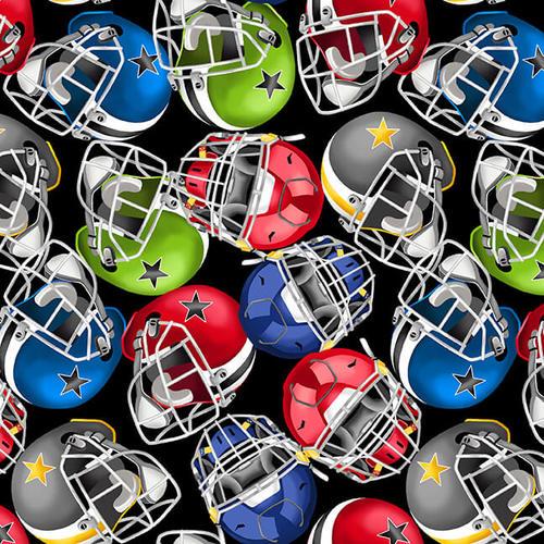 Love of The Game   Black Football Helmets
