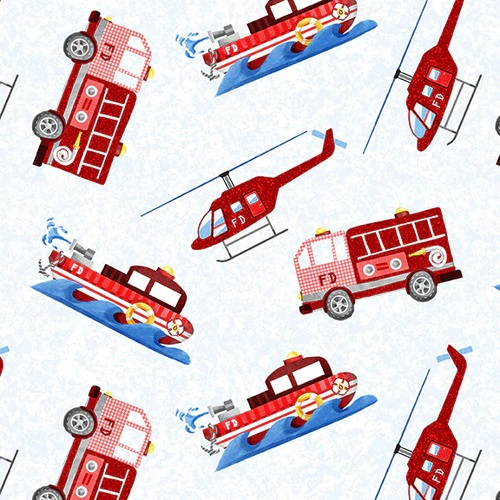 Everyday Heroes    Firefighter Vehicles  White