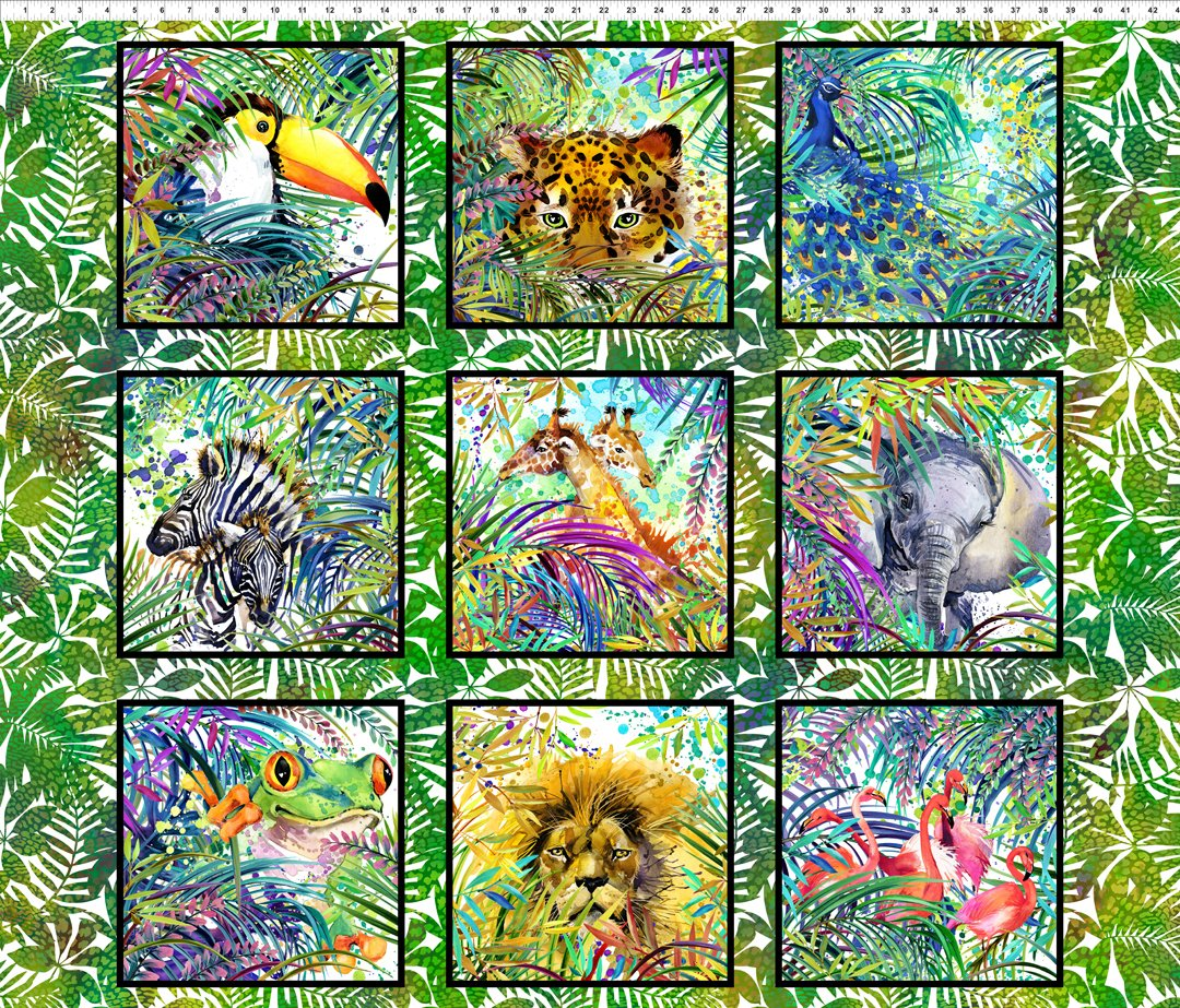 Safari Animal Panel Multi