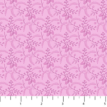 Orchids In Bloom  Mini Damask Plum