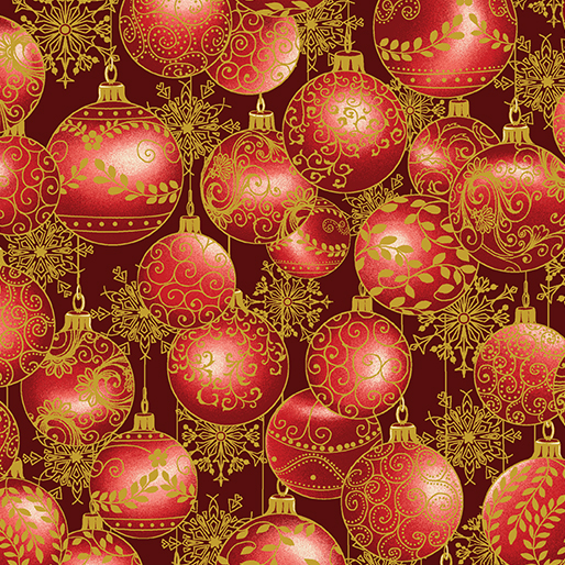 Hanging Ornaments Red