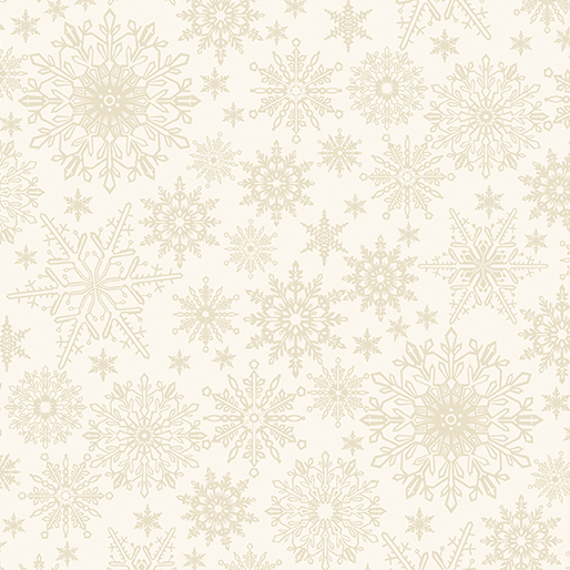 Tonal Snowflake Light Cream