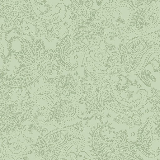 Tonal Paisley Medium  Green
