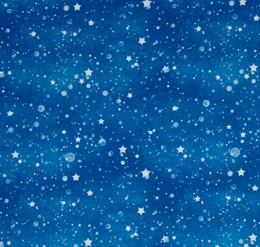 Snow Sky Dark Blue