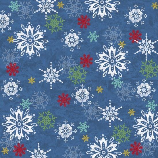 Snowflake - Blue