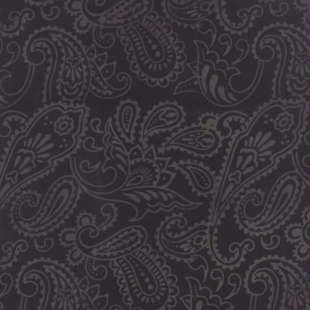 Fire and Ice Paisley  Coal