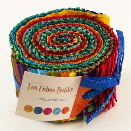 Los Cabos Batik Jelly Roll