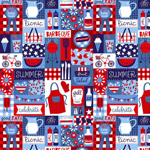 Patriotic Parade Patch