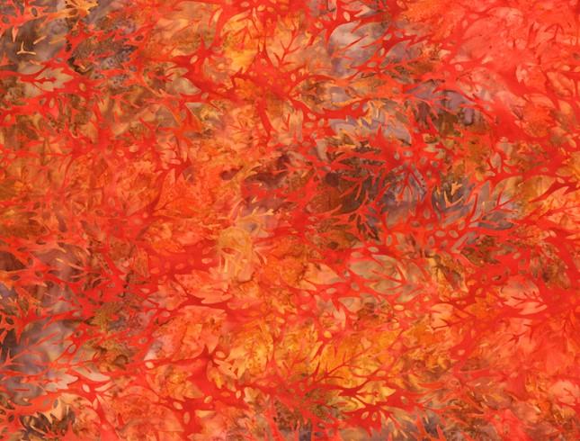 Leaves orange
