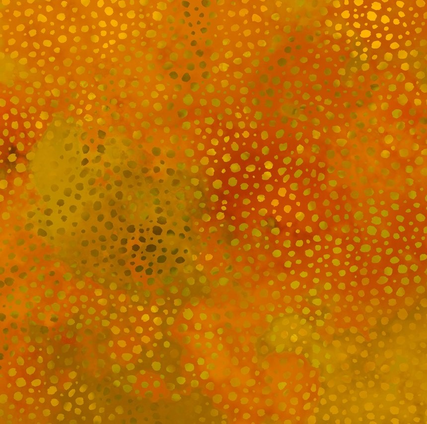 Safari Spots and Dots  Orange