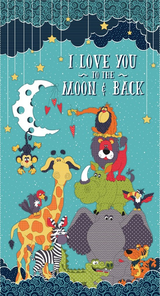 Moon and Back Banner Panel