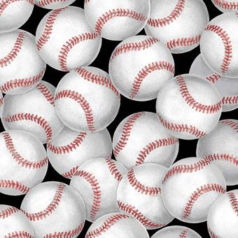 "Baseballs ""Black"""