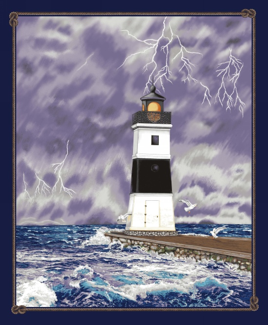 Lighthouse Wonder Panel