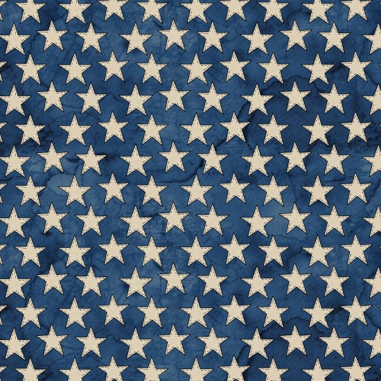 American Honor - vintage distressed look in stars