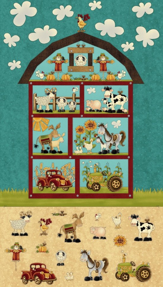 McAnderson's Farm Barn Panel Teal