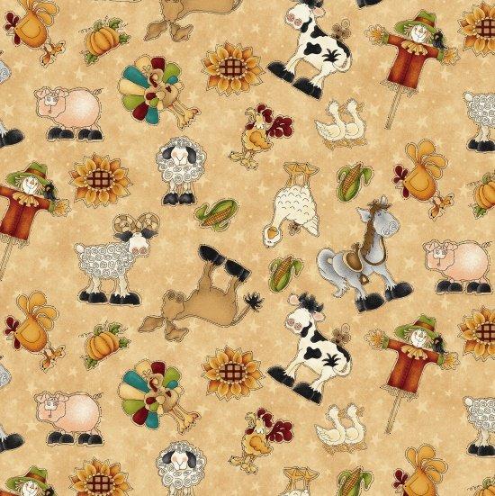 McAnderson's Farm  Characters- Tan