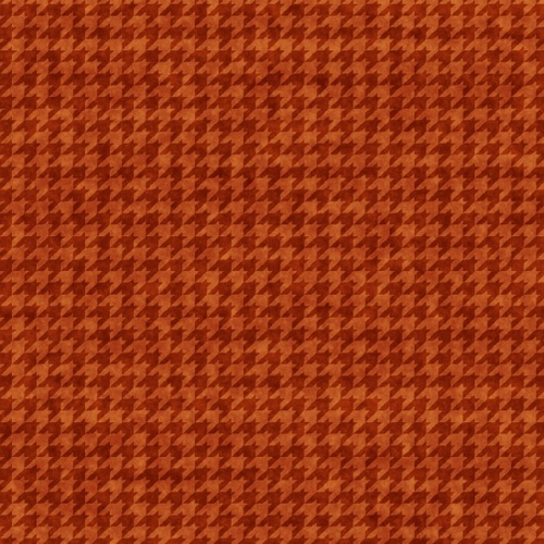 Houndstooth Basics - Orange
