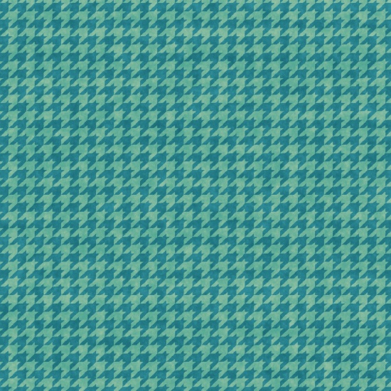 Houndstooth Basics Light Teal