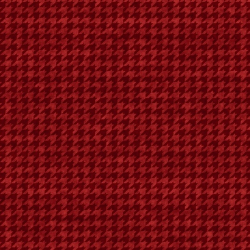 Houndstooth Basics - Red