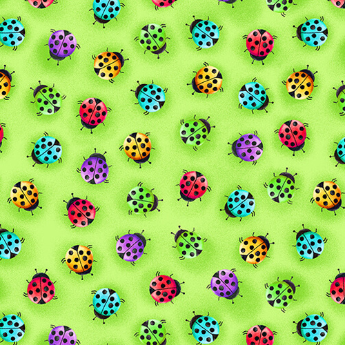 Lady Bugs Green