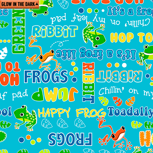 Toadally Cool -Say Ribbit Turquoise