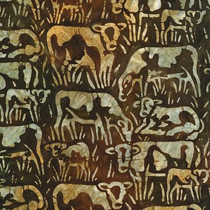 Artisan Batiks Farm Country (Cattle) Nature