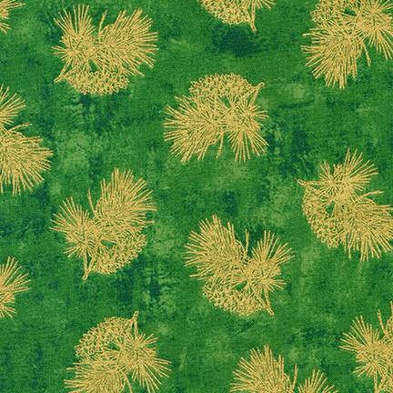 Winter's Grandeur 9      Green