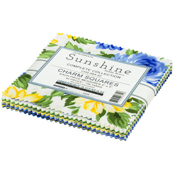 Flowerhouse Sunshine   Ten Inch Squares Complete Collection