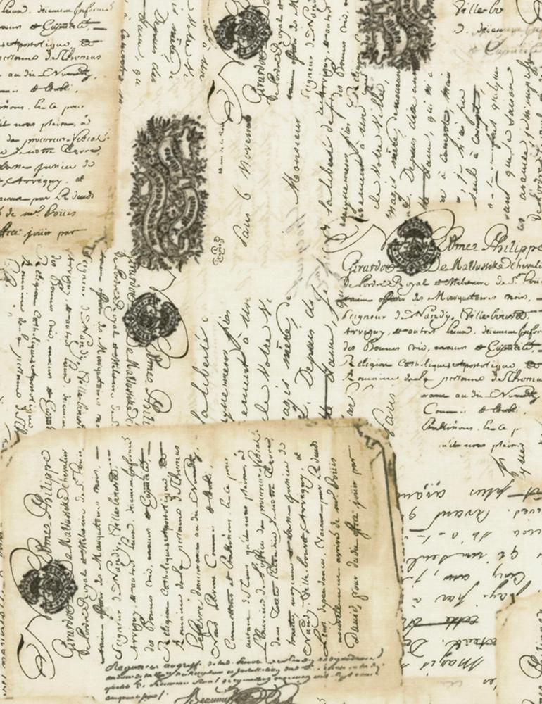 Library Latte Fancy Scroll