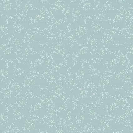 Blue Goose    Small Dots  Light Teal