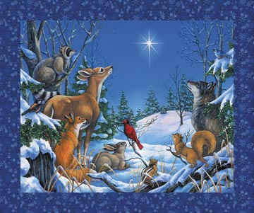 Woodland Winter Digital Panel