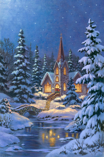 Silent Night Digital Panel