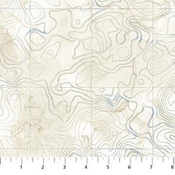Sail Away    Contour Map    Beige Multi