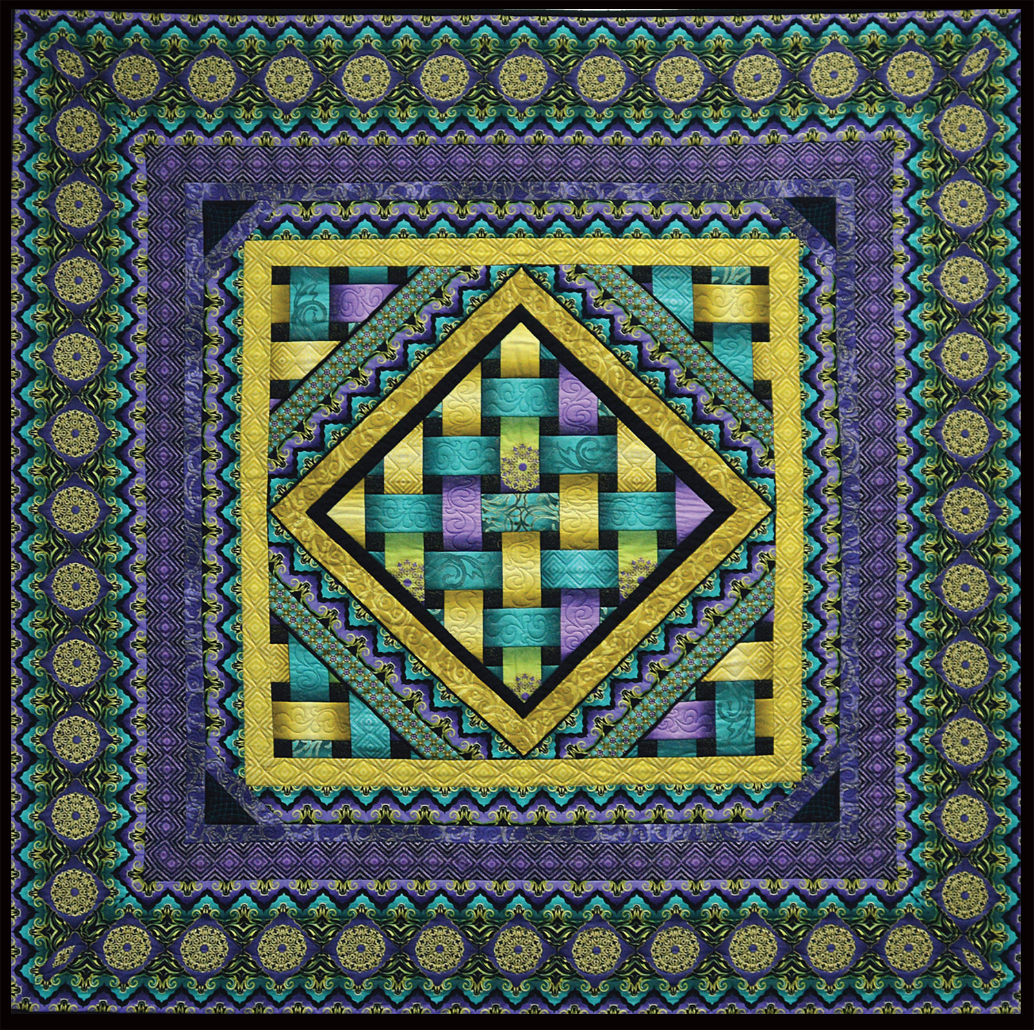 Reflections - Jewel Tones Quilt Kit