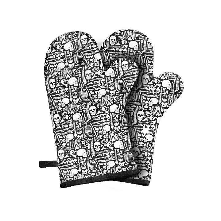 Elegantly Frightful-Oven Mitts - FREE Download