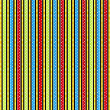 School Stripe Black Multi