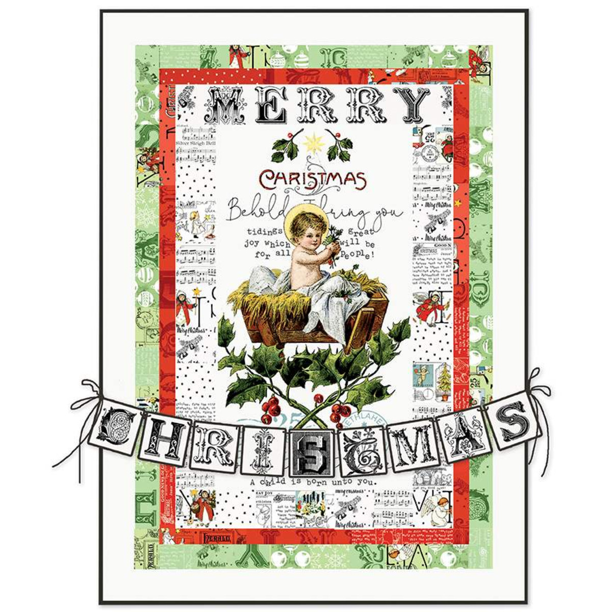 All About Christmas    Tidings of Great Joy Quilt Boxed Kit