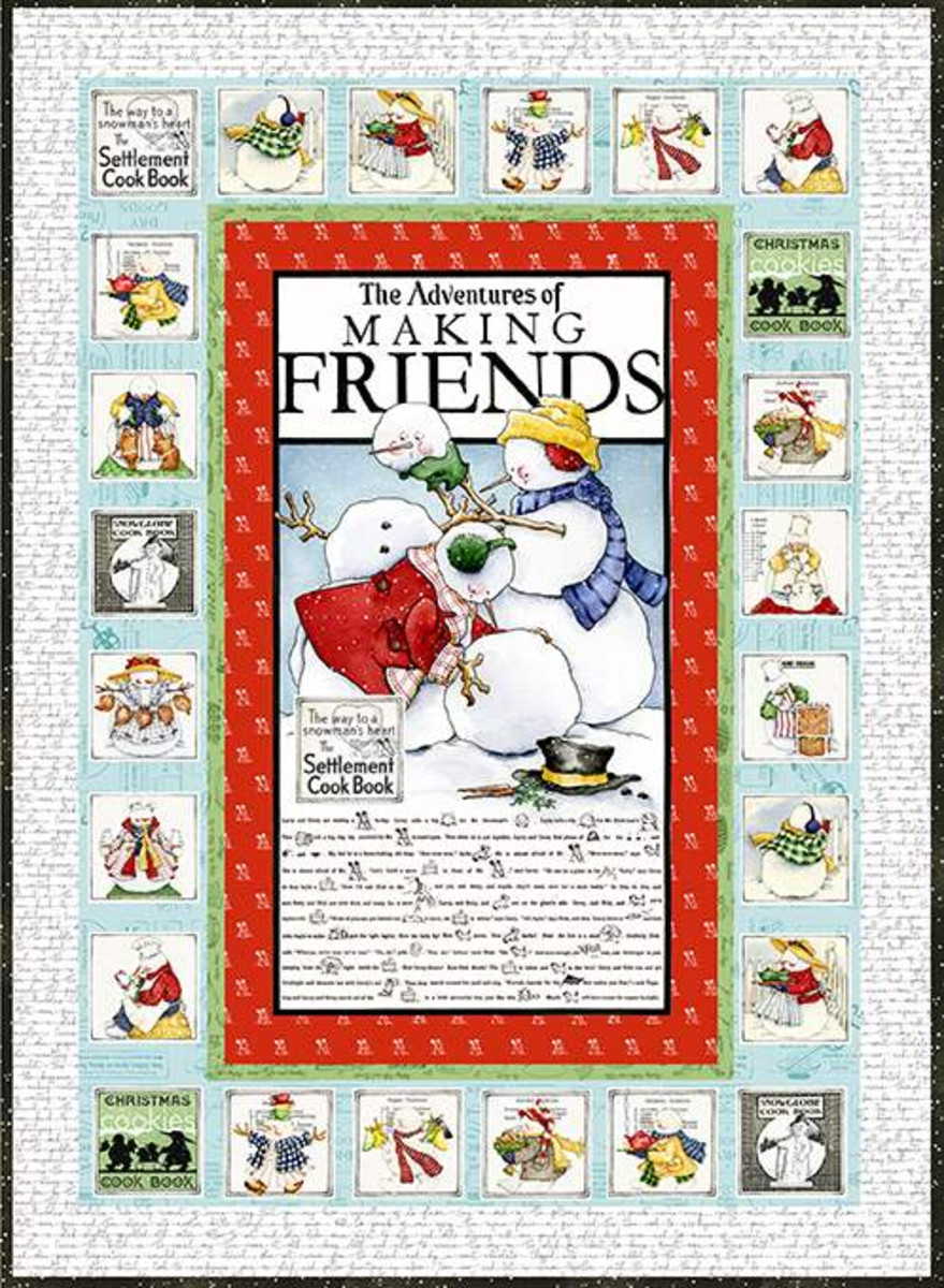 Snow Sweet Advent Boxed Quilt Kit