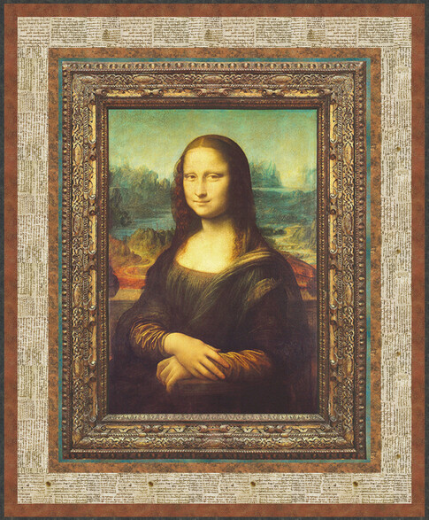 Leonardo DaVinci The Mona Lisa - FREE PATTERN