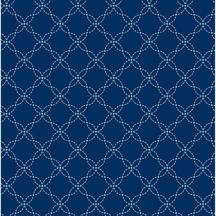 KimberBell Basics Lattice Navy
