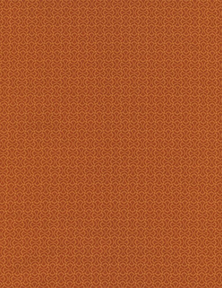 Marigold Spice Paisley
