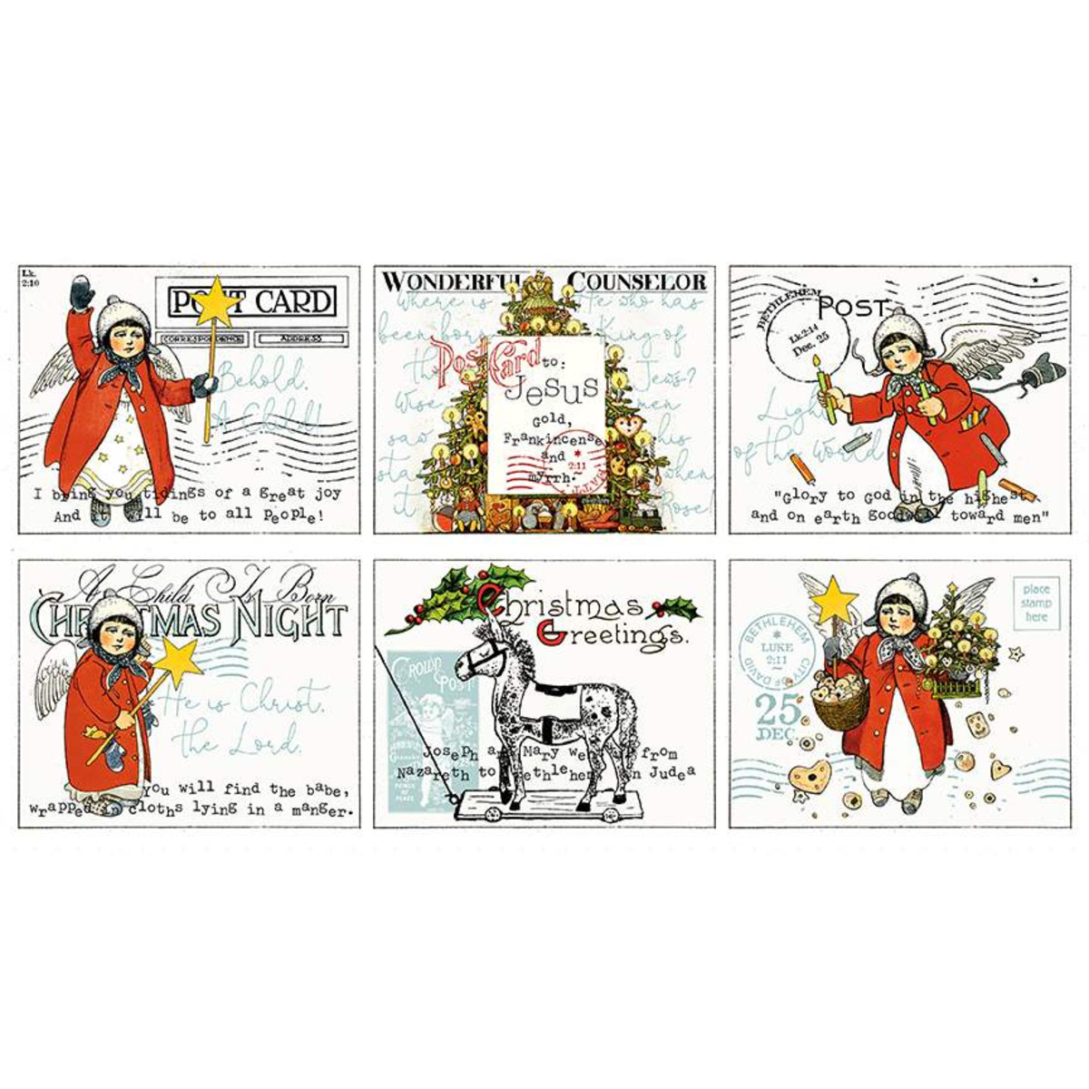 All About Christmas   Digital    Placemat Panel