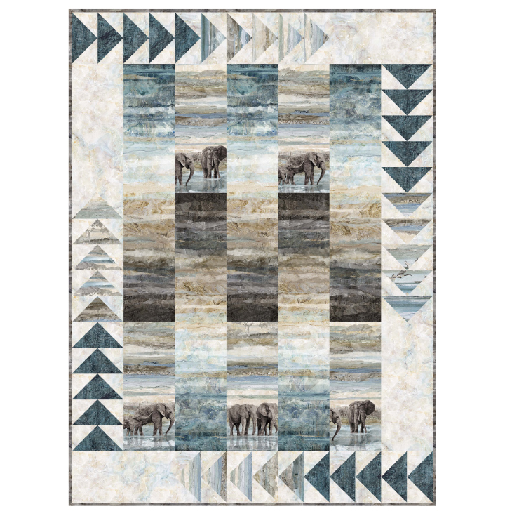 """Follow the Leader Pattern featuring Northcott's """"New Dawn"""""""