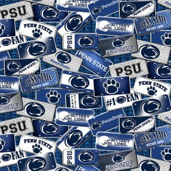Penn State College Cotton Print