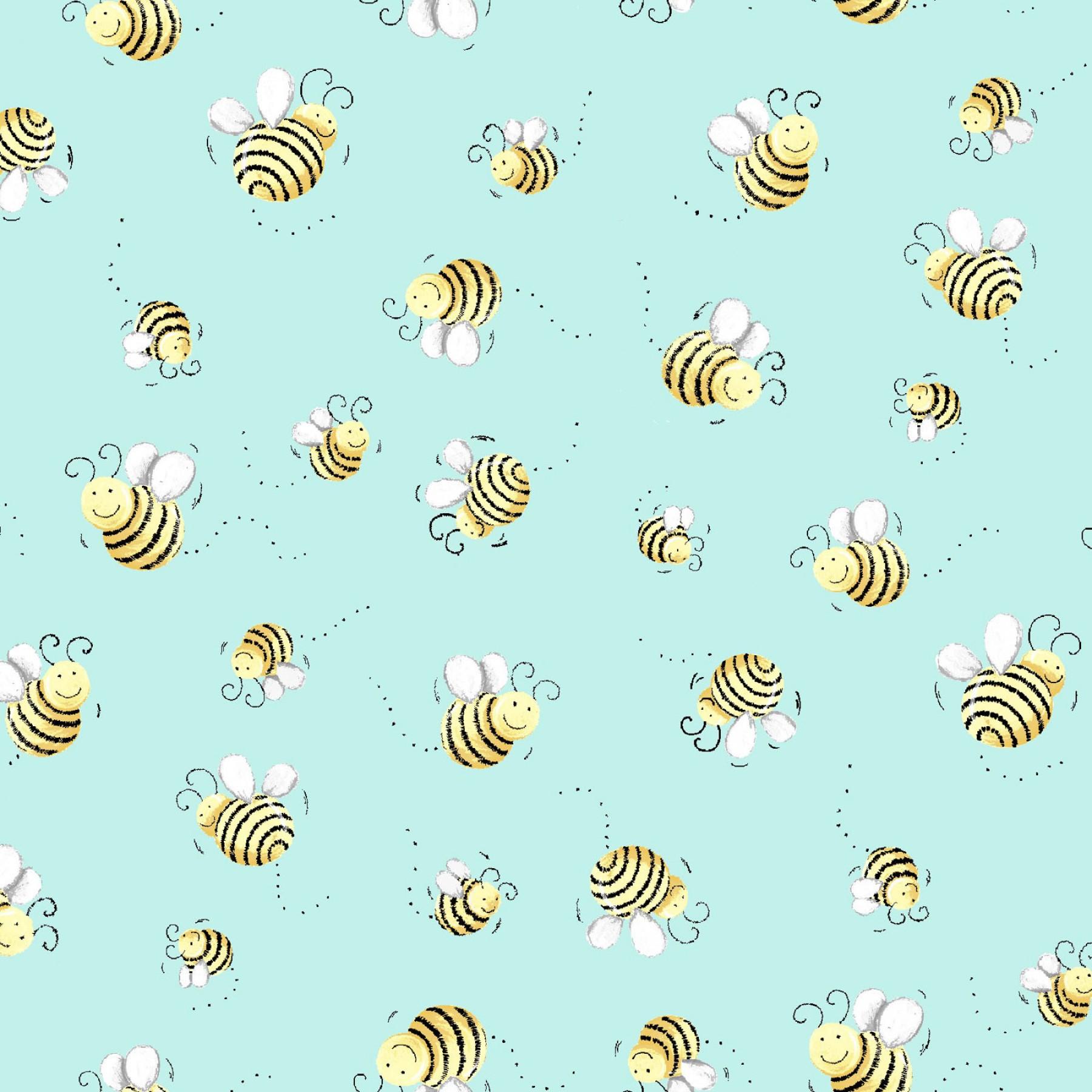 Susy's Bees Aqua