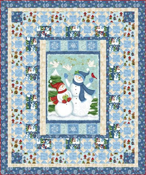 Winter Joy Quilt Project Sheet - FREE Download