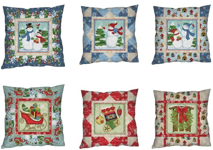 Winter Joy Pillows Project Sheet - FREE Download