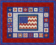 American Beauty Flag Kit